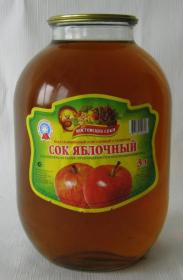 Сок фруктовый 3л ст\б