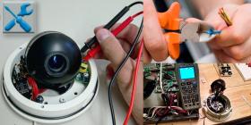 Техническое обслуживание и ремонт системы охранного видеонаблюдения